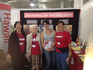 The AARP Home Fit Guide a popular item at this year's show