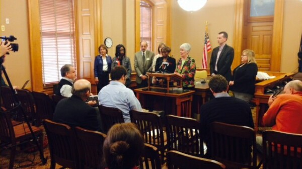 Healthcare Compact news conference