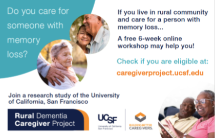 AARP SD Helps to Expand the Reach of the Rural Dementia Caregiver Project