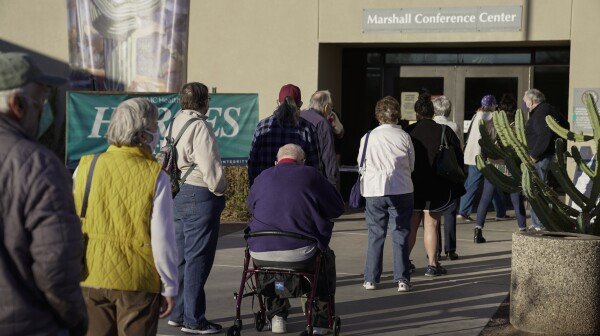 Tucson Medical Center Administers Covid-19 Vaccinations To Group 1B