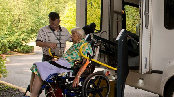 Senior Services Van SQ
