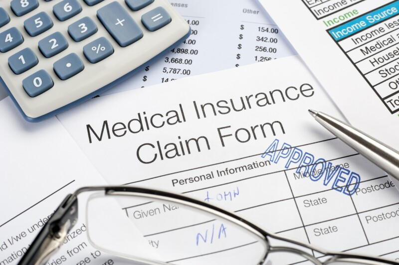 Approved Medical insurance claim