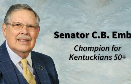 Award Names Senator C.B. Embry 'Champion for the 50-Plus'