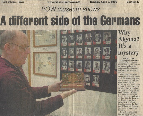 News clipping featuring Jerry Yocum