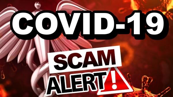 COVID19 Scam Alert
