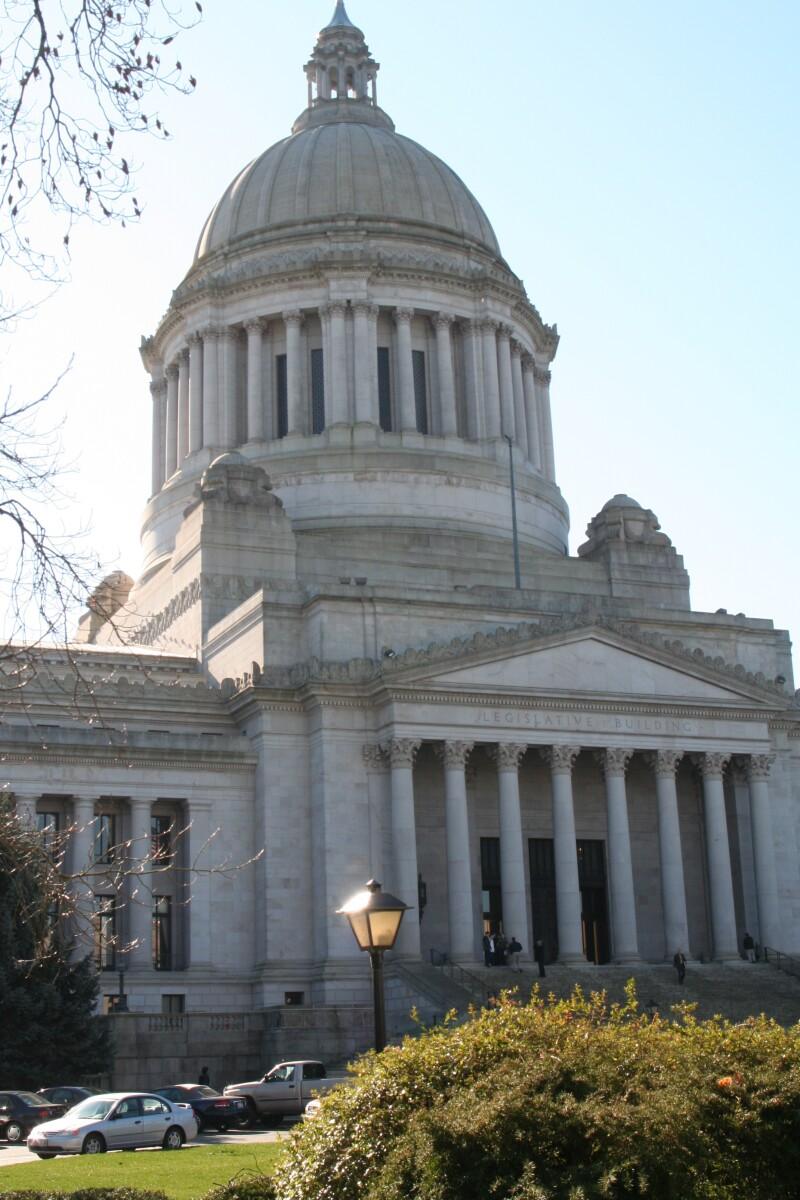 Washington state Capitol Standard Vertical