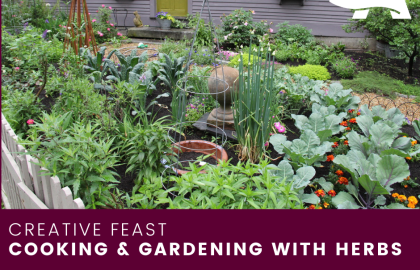 ICYMI--Cooking & Gardening with Herbs Demo