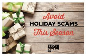 Avoid holiday scams this season