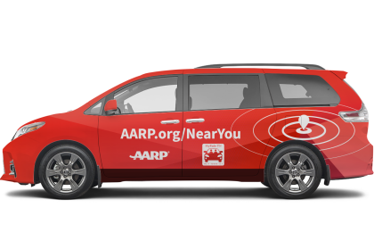 AARP Supports Local Rides near Jackson