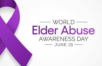 Together we can prevent elder abuse