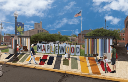 Maplewood Bus Stop Transformation