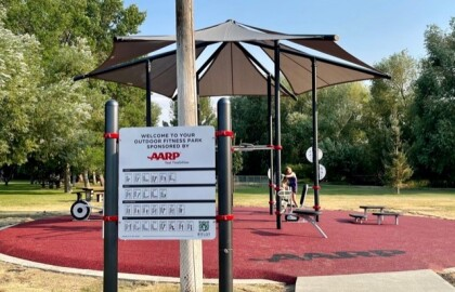 East Helena now has a new Place to Play, Gather and Exercise