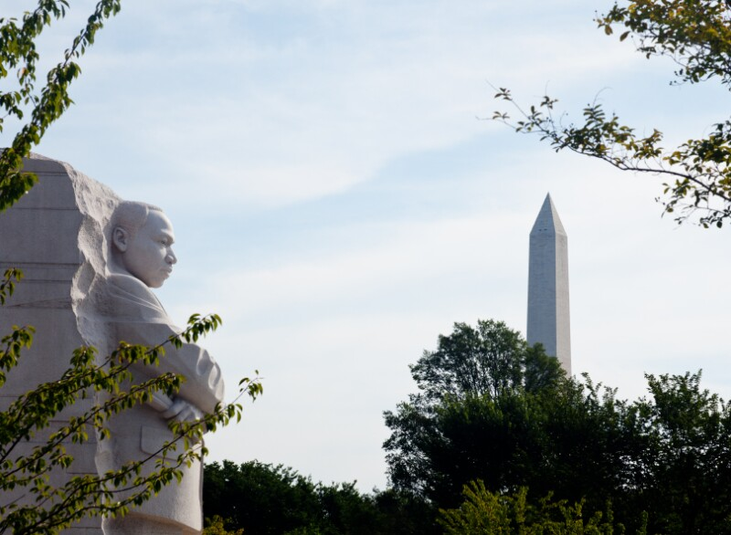 Martin Luther King Monument DC