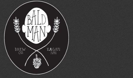 Bald man brewing