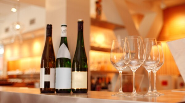 Wine Tasting at a Trendy New York City Bar