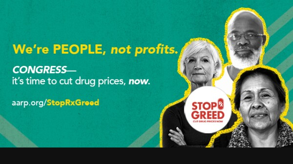 Stop Rx Greed Graphic