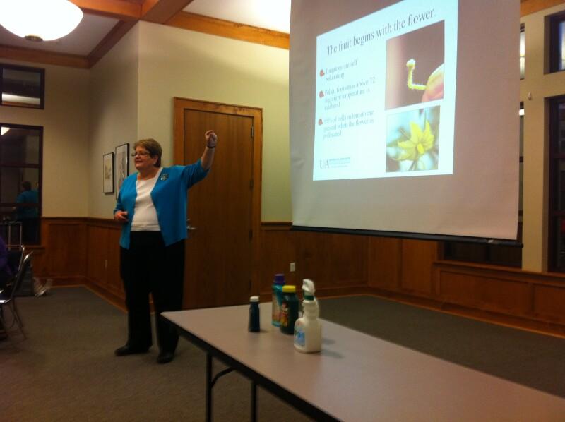 Beth Phelps talks tomatoes