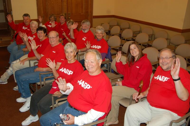 AARP advocates at health exchange hearing