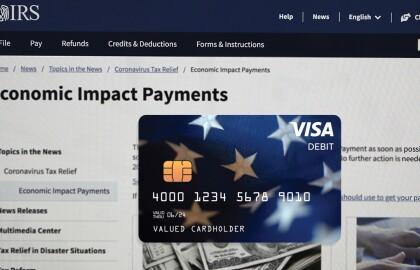 IRS Mails Out 4 Million Stimulus Payments by Prepaid Debit Card