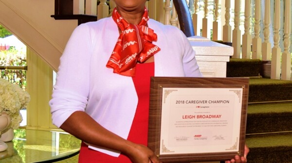 Leigh Broadway, Caregiving Champion
