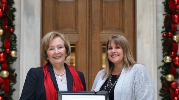 Capitol Caregiver Award Senator Bledsoe