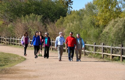 Austin Walking Group Steps Toward Good Health