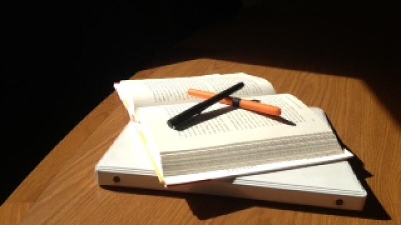 Learning books photo