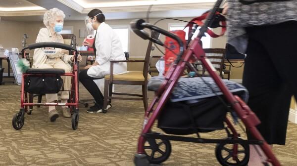 Senior facility gets COVID-19 vaccine