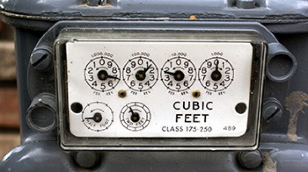 Utility Meter Dials