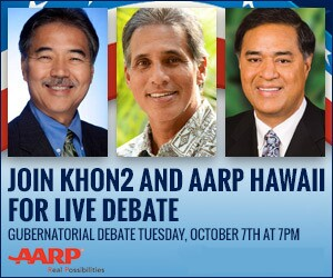 Hawaii Gubernatorial Debate