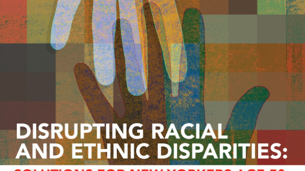 Disrupt Disparities report cover
