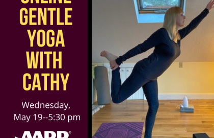 Online Gentle Yoga with Cathy -- 5.19.21