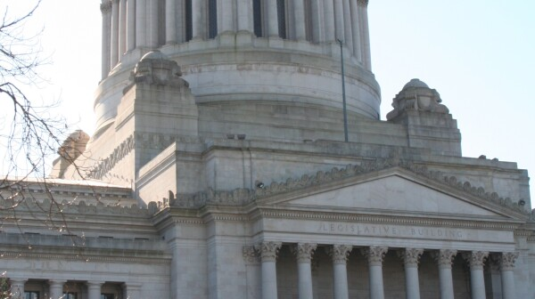Washington state Capitol Standard Vertical