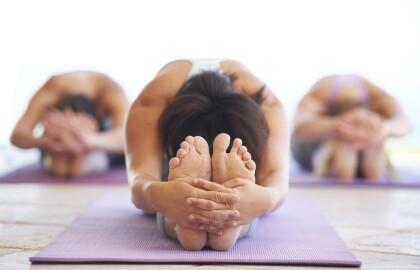 Namaste! Virtual Yoga for Vets and Their Caregivers