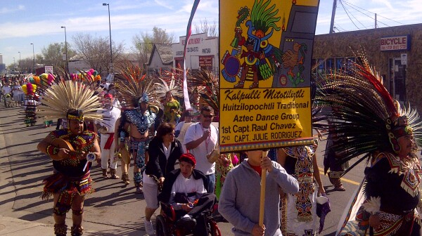cesar chavez parade 2012