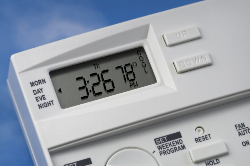 Sky Thermostat 78 Degrees Cool V1