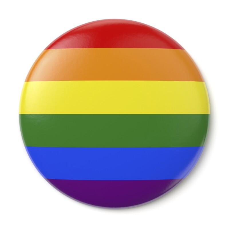 Gay Pride Pin-back