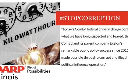 AARP Illinois Response to ComEd Federal Corruption Charges