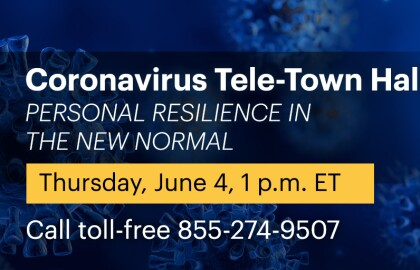 Coronavirus Q&A: Personal Resilience in the New Normal