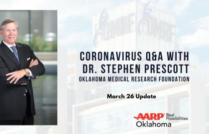 Coronavirus Q&A with Dr. Stephen Prescott