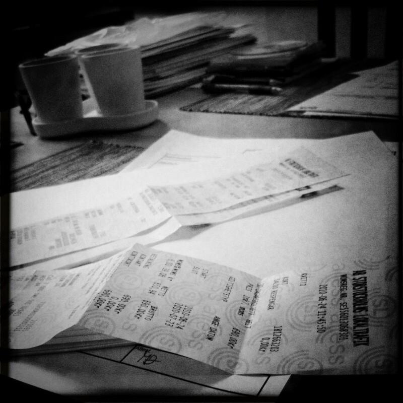 12 Tax Aide recipts