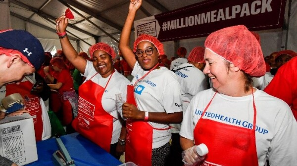 AARP Foundation Mealpacking