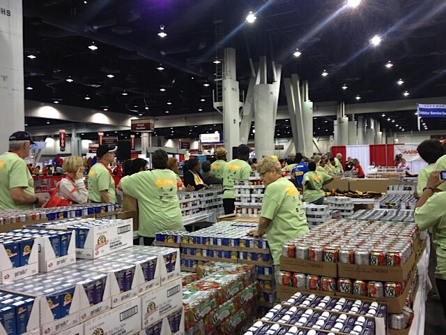 Meal packing in Las Vegas with Three Square