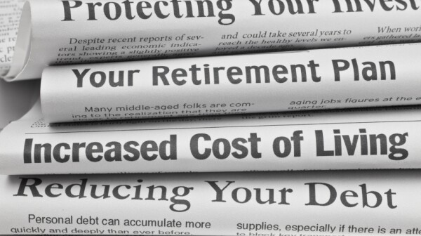 Retirement Newspapers Image