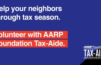 Volunteer with AARP Foundation Tax-Aide