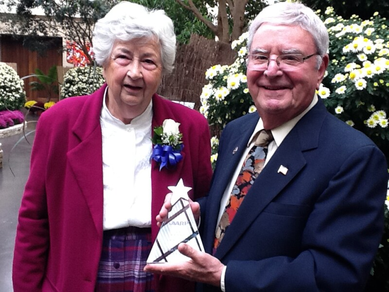 Omaha volunteer receives 2012 Andrus Award