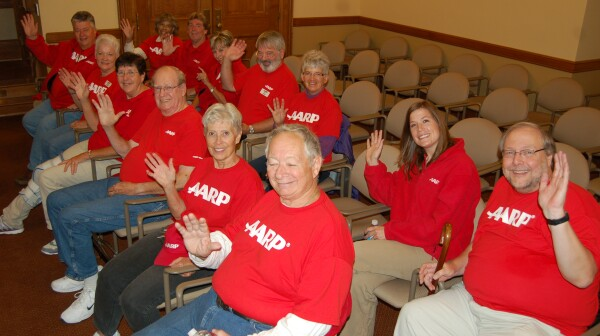 AARP advocates at health exchange hearing