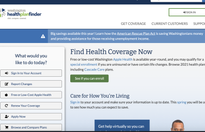 How to Sign Up for ACA Health Insurance in Washington