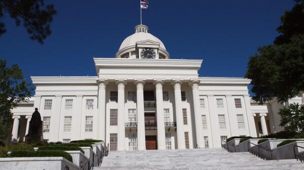 Alabama State Capitol -Montgomery, Alabama, USA