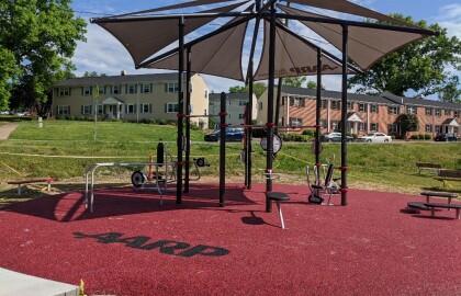 Winston-Salem opens new outdoor fitness park
